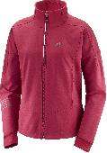 Превью   SALOMON Lightning Warm SShell Jkt Rio Red  (19/20)