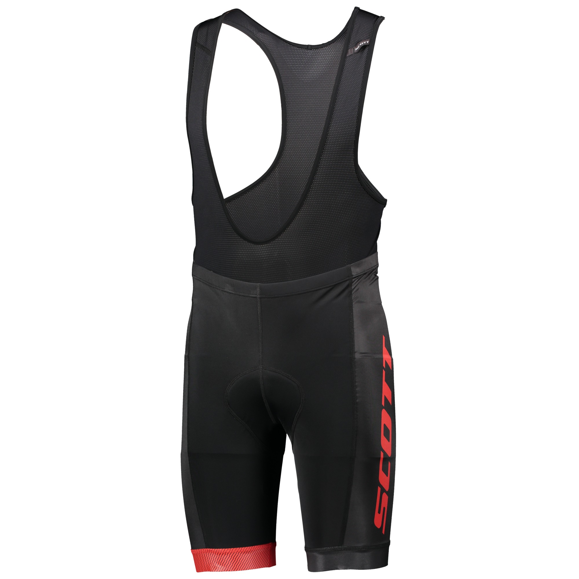 Велотрусы SCOTT RC Team ++ Black/Red Black/Red с лямками